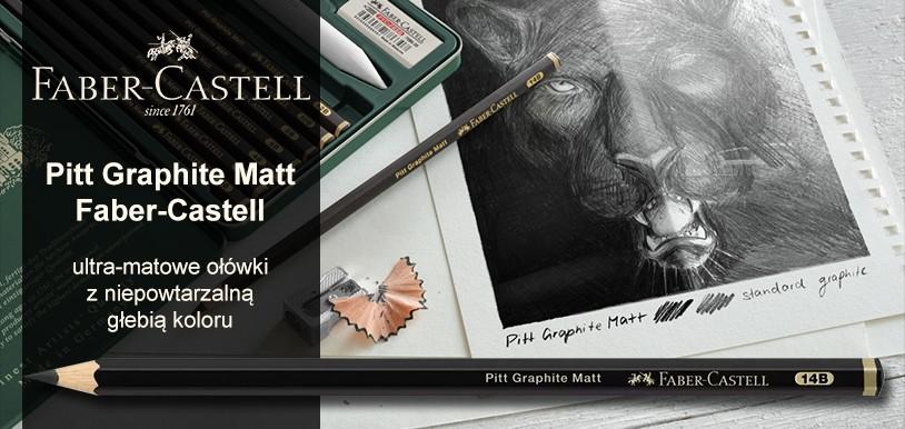 Nowość ołówki Pitt Graphite Matt Faber Castell