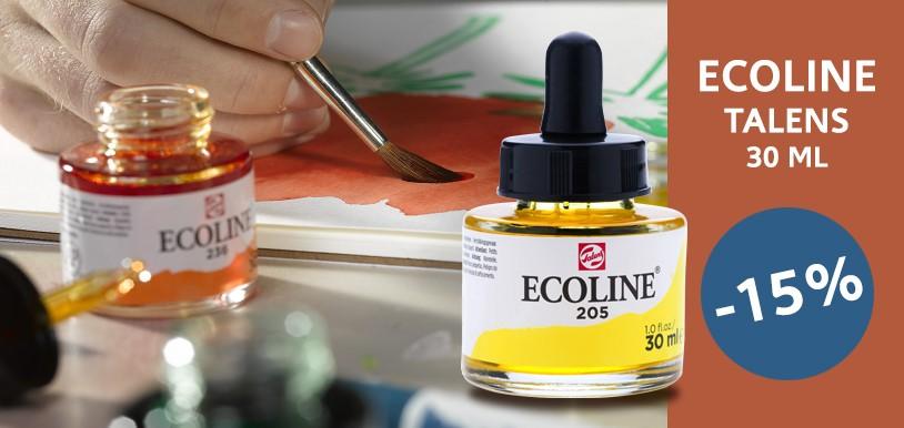 Talens Ecoline – farby akwarelowe w płynie 15% TANIEJ!