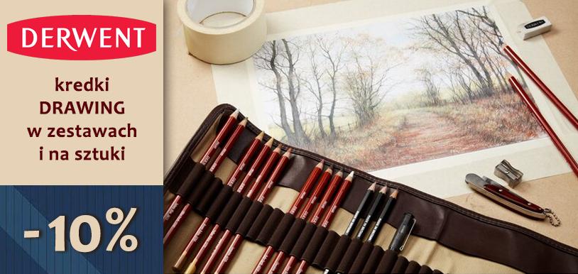 Kredki rysunkowe Derwent Drawing na sztuki i w zestawach. TANIEJ o 10%