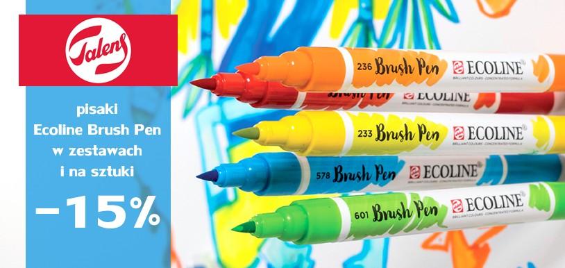 Pisaki akwarelowe Ecoline Brush Pen 15% TANIEJ - Pisaki na sztuki i zestawy