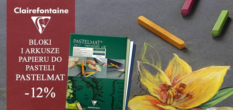 promocja na papiery do pasteli Pastelmat Clairefontaine