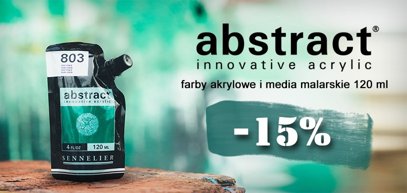 Farby akrylowe Sennelier Abstract PROMOCJA 15%