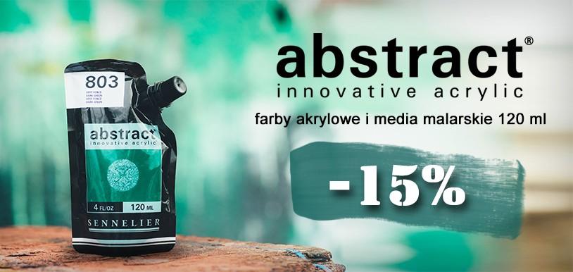 Farby akrylowe Sennelier Abstract PROMOCJA 15%