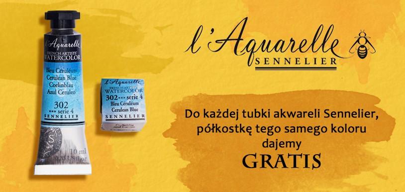 Farby akwarelowe Sennelier Aquarelle PROMOCJA